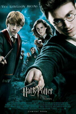 "004 Daniel Radcliffe - Harry Potter Movie Star 24""x36"" Poster"