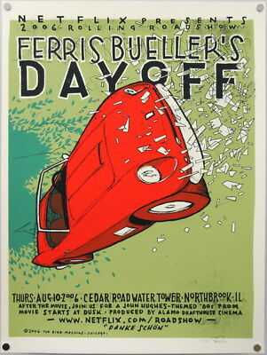 "008 Ferris Bueller Day Off - Matthew Broderick Classic USA Movie 24""x31"" Poster"