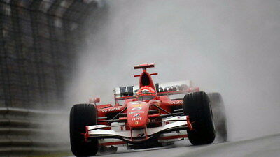 "014 Michael Schumacher - Mercedes Germany F1 Racing Driver 42""x24"" Poster"