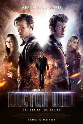 """049 Doctor Who - BBC Space Travel 50th_anniversary Hot TV Show 24""""x35"""" Poster"""