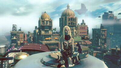 "021 Gravity Rush 2 - Action Fight Game 42""x24"" Poster"