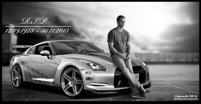 "055 Paul Walker - RIP Fast and Furious Super Movie Star 46""x24"" Poster"