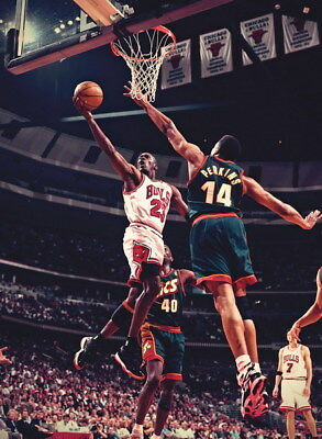 "342 Michael Jordan - MJ 23 Chicago Bulls NBA MVP Basketball 24""x32"" Poster"