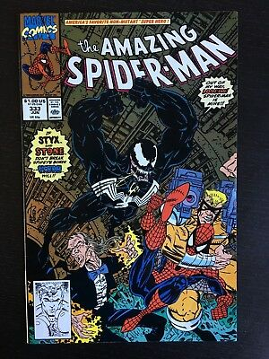 Marvel: Amazing Spider-Man (1963 1st Series) #333 Venom Erik Larsen FN/VF 7.0