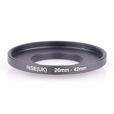 RISE(UK 26-42mm26mm-42mm Stepping Step Up Filter Ring Adapter