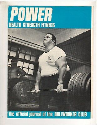 Power Bodybuilding Muscle Health Mag/PAUL ANDERSON Premiere Iss vol 1#1British