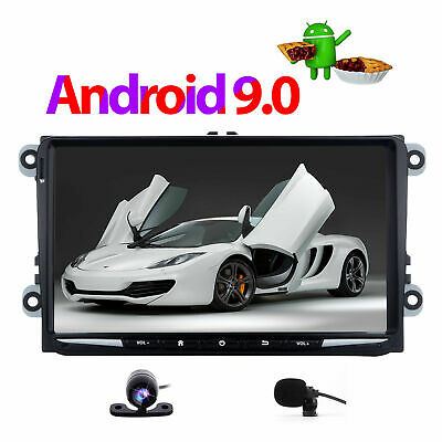 "8"" Car DVD Player Stereo GPS Sat Nav RDS Bluetooth VW Golf MK5 MK6 Jetta Passat"