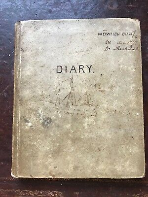 Victorian Naval Maritime Journal Diary 1859 - 1852