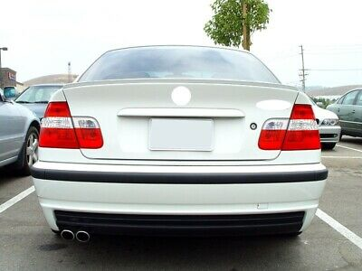 BMW 3 Series E46 Saloon Rear Boot Trunk Spoiler Lip Wing Sport Trim Lid M3 M-