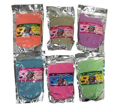 Magic Motion Moving Play Sand Pack 500g -1000g (1KG) Variety Colours Never Dry