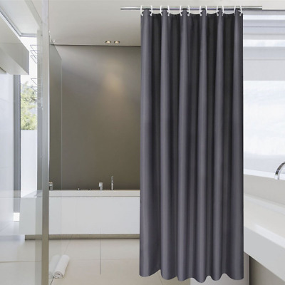 Stall Shower Curtain 36 X 72 Inch Aoohome Solid Fabric Bathroom For Hot