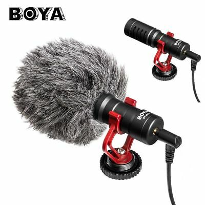 Boya BY-MM1 Cardiod Shotgun Video Microphone For iOS Android Smartphone Camera