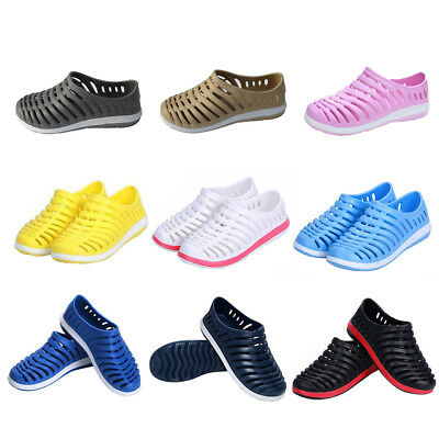 Men Women Breathable Slippers Hollow Out Garden Beach Hole Sandals No Slip Shoes
