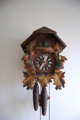 working  cuckoo clock  made in  west germany