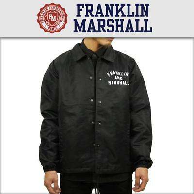 69a3e694f0a0 FRANKLIN AND MARSHALL Jacket Locals Only Black Xl Rrp £150 Sale ...