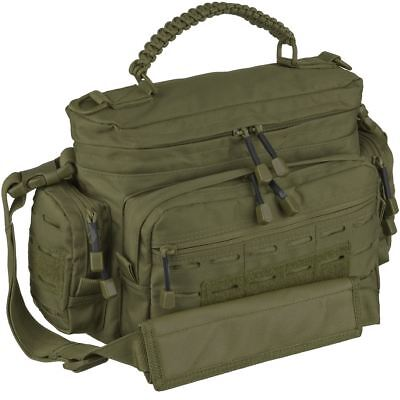 Mil-Tec Tactical Paracord Bag Small Modular Shoulder Laser Molle Army Pack