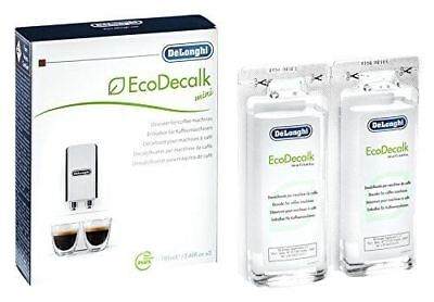 Delonghi EcoDecalk Coffee Bean Maker Machine Descaler Pack Of 6 100ML 5513292821