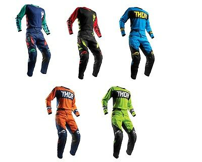 2018 Thor Racing Dirt Bike Gear Fuse Motocross Pants or Jersey MX Off Road Atv