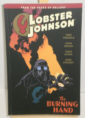 LOBSTER JOHNSON VOLUME 2 THE BURNING HAND GRAPHIC NOVEL Paperback Collects #1-5