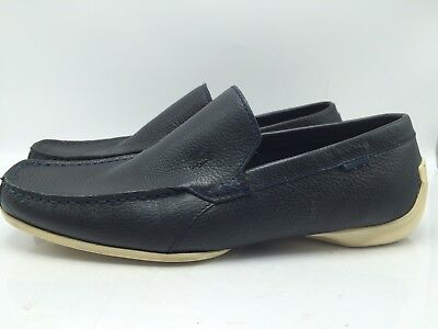 3dab54e1fb51 10A5 Lacoste Argon LX3 Leather Slip On Loafer Moccasin Men Shoes Size 10.5  (44)