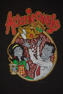 Alice in Chains XL Dysfunctional Family black shirt - Rare