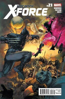 UNCANNY X-FORCE ISSUE 21 - FIRST 1st PRINT - CAPTAIN BRITAIN APPEARS