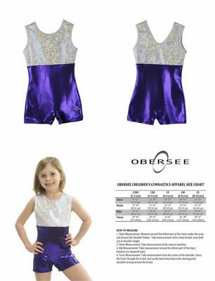 Obersee Body de gym pour fille