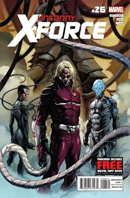 UNCANNY X-FORCE ISSUE 26 - FIRST 1st PRINT RICK REMENDER - MARVEL COMICS