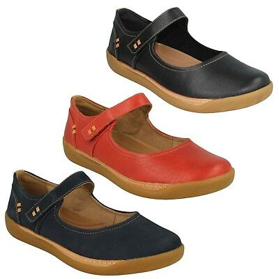 efb9bfc6b0fd80 Femmes Clarks Unstructured Cuir Babies Chaussures Plates Pointure un Havre  Ruban