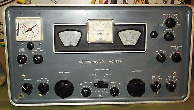 hammarlund hq 180ac vintage tube shortwave ham radio receiver w rh picclick com Special Forces Warrant Officer Course Dell PowerEdge