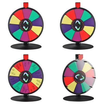 Spinning Wheel Prize Game Of Fortune Tabletop Win 10 Slot Trade Show Erase 15