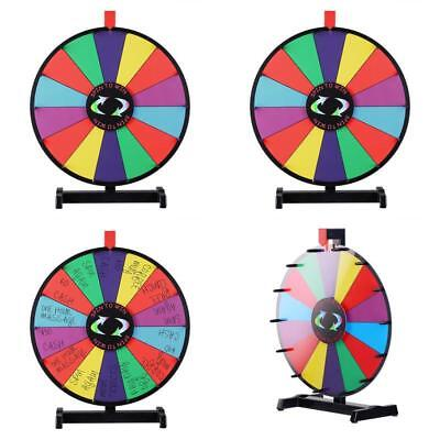 Spinning Wheel Prize Game Of Fortune Tabletop Win 14 Slot Trade Show Erase 18