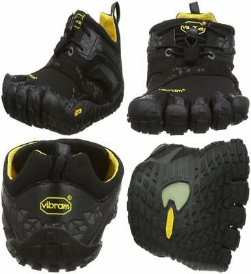 Spyridon Mr Elite, Chaussures de Trail Homme, Multicolore (Black/Yellow), 46 EUVibram Fivefingers