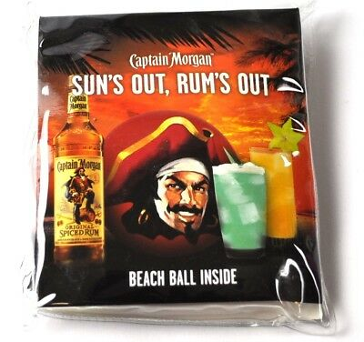 Captain Morgan USA aufblasbarer Wasserball Strandball Beach Ball