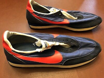 hot sale online dfc89 fc3fb Vintage Nike Waffle 2 Nylon Running Shoes MADE IN USA OG 1970s 80s Very  Rare