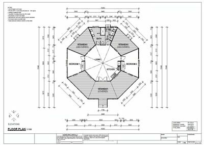 Kit Home House Plans For Sale - Home Design 2 Bedroom + Round House Plan Special