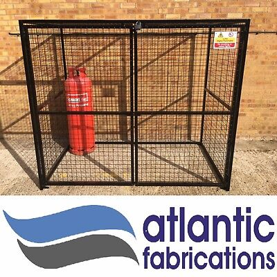 X- LARGE Gas Bottle storage cage -  1800h x 2000w x 1200d