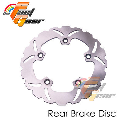 Solid Rear Brake Disc Rotor x1 For Suzuki GSF 1250 BANDIT/ S 07 08 09 10 11-14