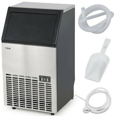 NEW Della Stainless Steel Commercial Ice Maker Undercounter Freestanding Machine
