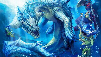 """025 Monster Hunter - Moster Fight Game 24""""x14"""" Poster"""