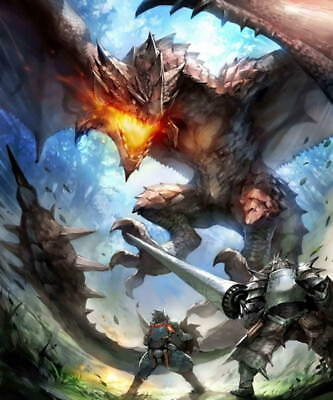 """019 Monster Hunter - Moster Fight Game 14""""x16"""" Poster"""