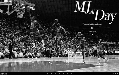 "260 Michael Jordan - MJ 23 Chicago Bulls NBA MVP Basketball 22""x14"" Poster"