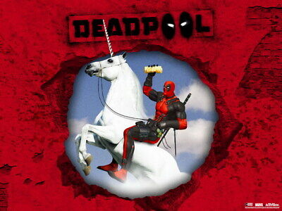 """047 Deadpool - Special Soldier X Men Fight USA Hero 18""""x14"""" Poster"""