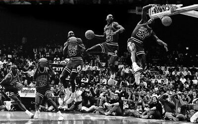 "338 Michael Jordan - MJ 23 Chicago Bulls NBA MVP Basketball 22""x14"" Poster"