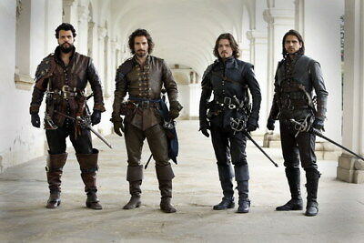 """012 The Musketeers - Season1 2 3 4 Fight Hot TV Shows 21""""x14"""" Poster"""