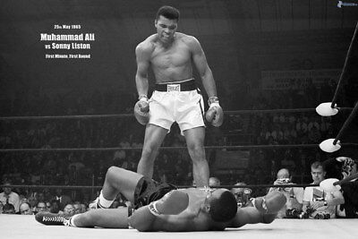 """008 Muhammad Ali - King of  Boxing Great Top Player 36""""x24"""" Poster"""