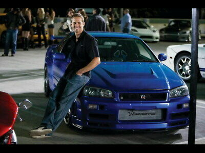 "070 Paul Walker - RIP Fast and Furious Super Movie Star 32""x24"" Poster"