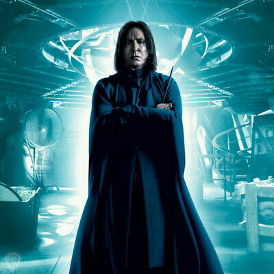 "048 Alan Rickman Harry - RIP Severus Snape UK Actor 24""x24"" Poster"