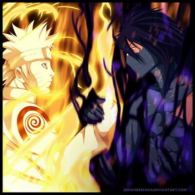 "275 Naruto - Last Uzumaki NINJA Fighting Japan Anime 24""x24"" poster"