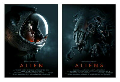 "079 Aliens  - Classic Terror Shooting Space Hot Movie 34""x24"" Poster"